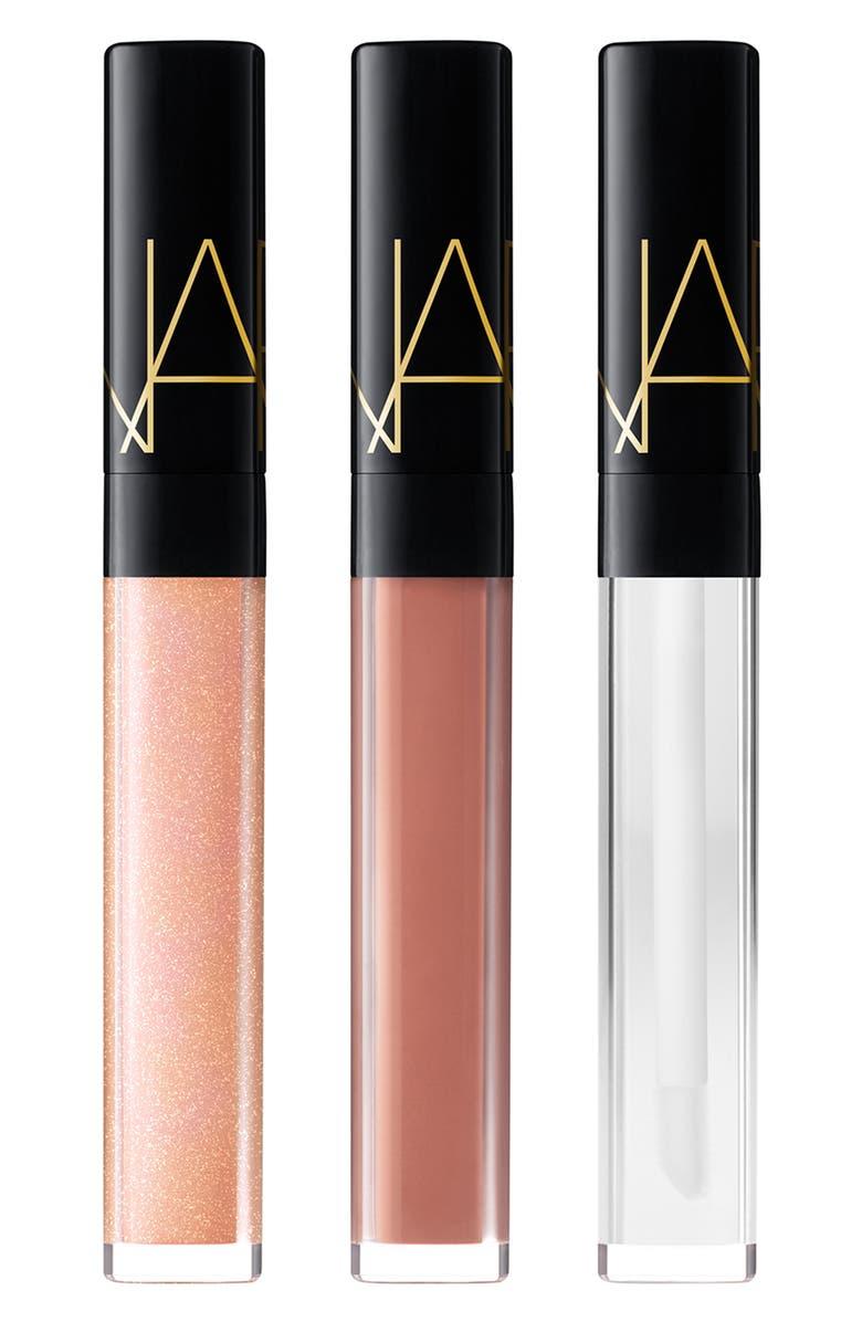 NARS Studio 54 Full Size Outshine Lip Gloss Set, Main, color, 000