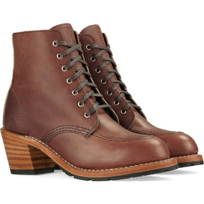 Red Wing Clara Boot, Brown