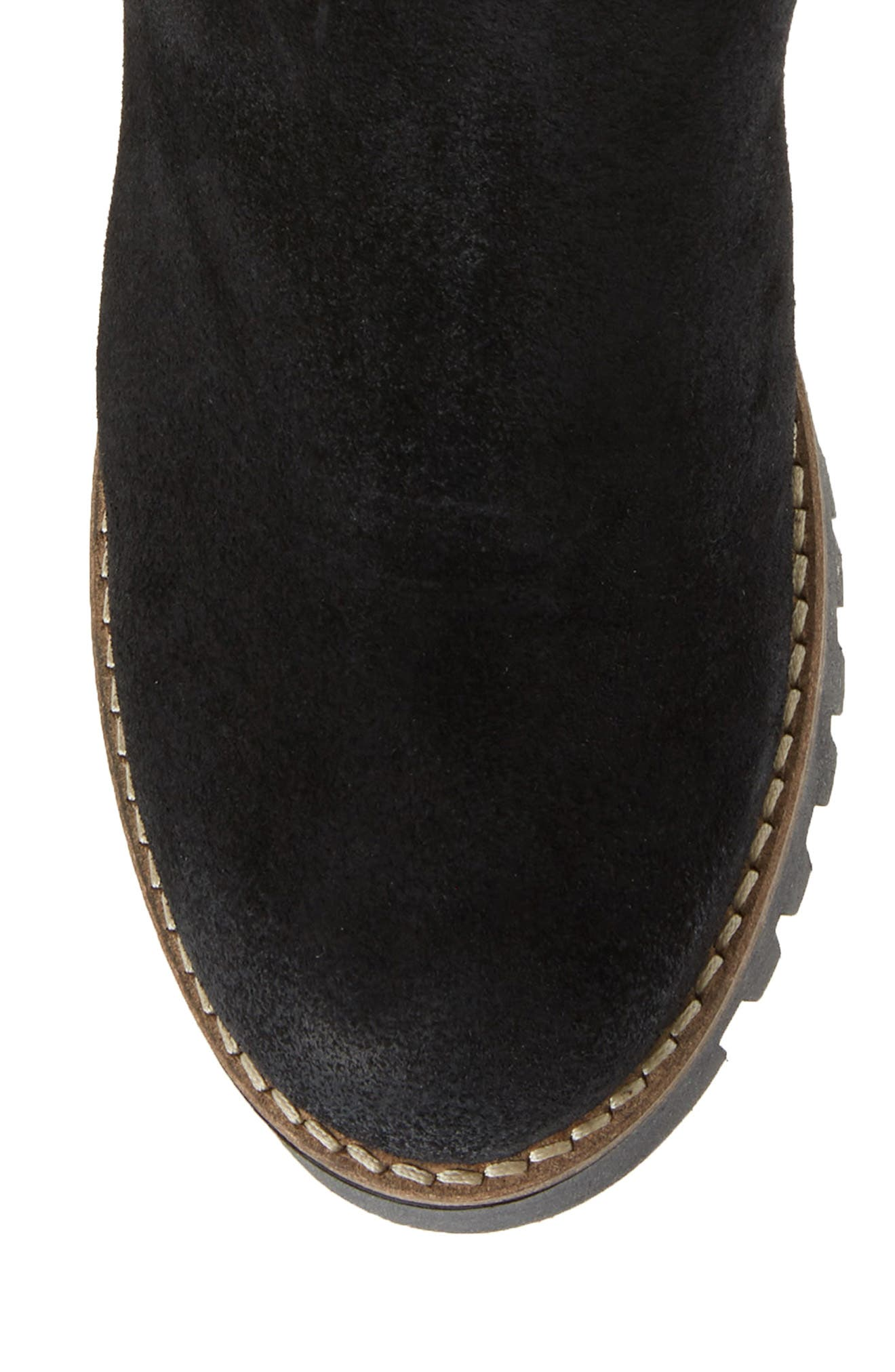 ,                             Graham Waterproof Winter Boot with Faux Fur Cuff,                             Alternate thumbnail 5, color,                             001