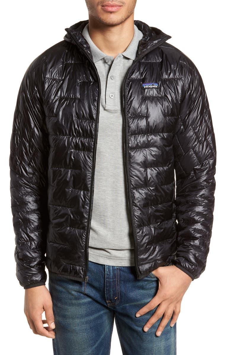 PATAGONIA Micro Puff Jacket, Main, color, BLACK