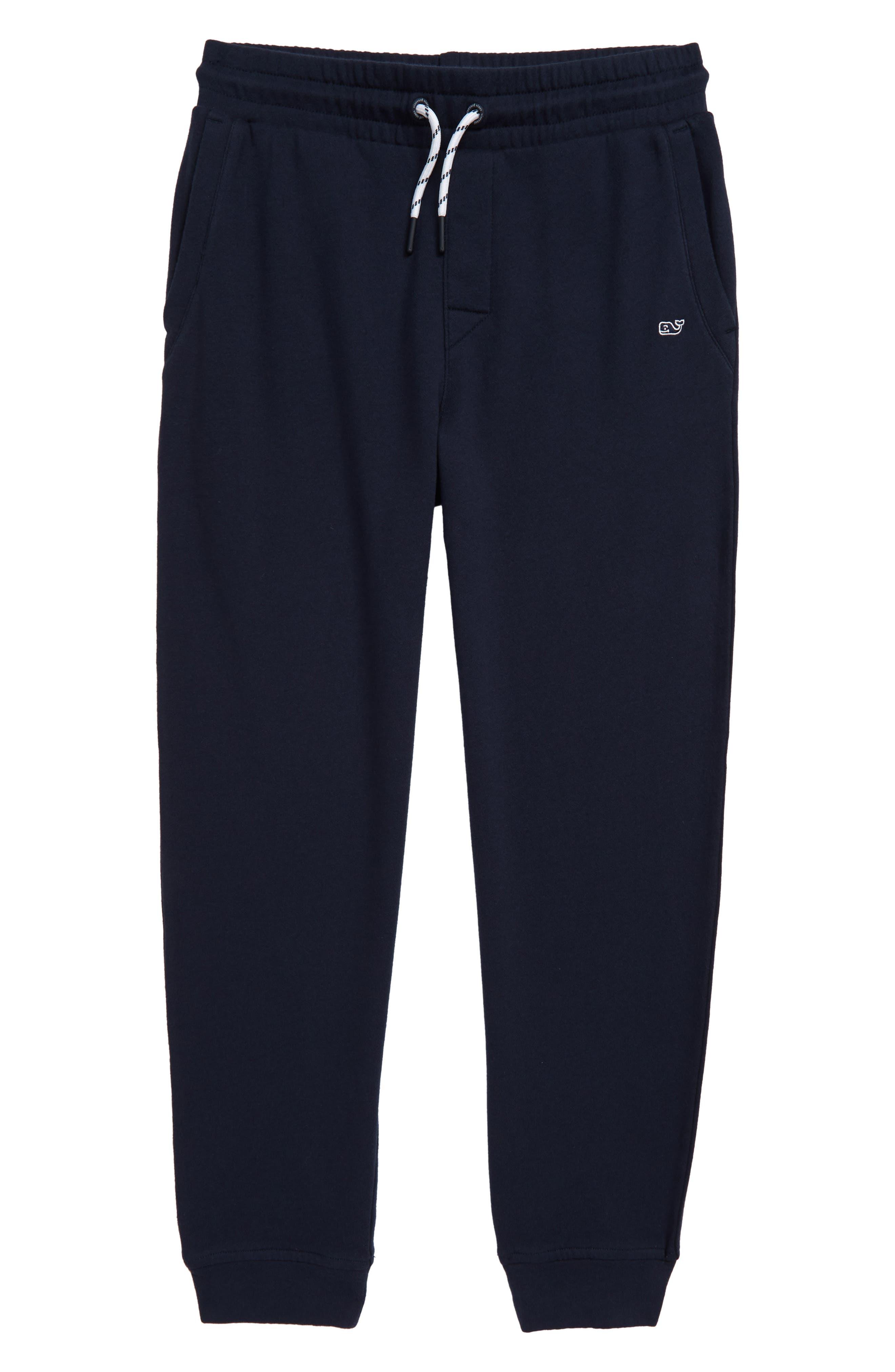 Boys Vineyard Vines Go Knit Jogger Sweatpants Size L (16)  Blue
