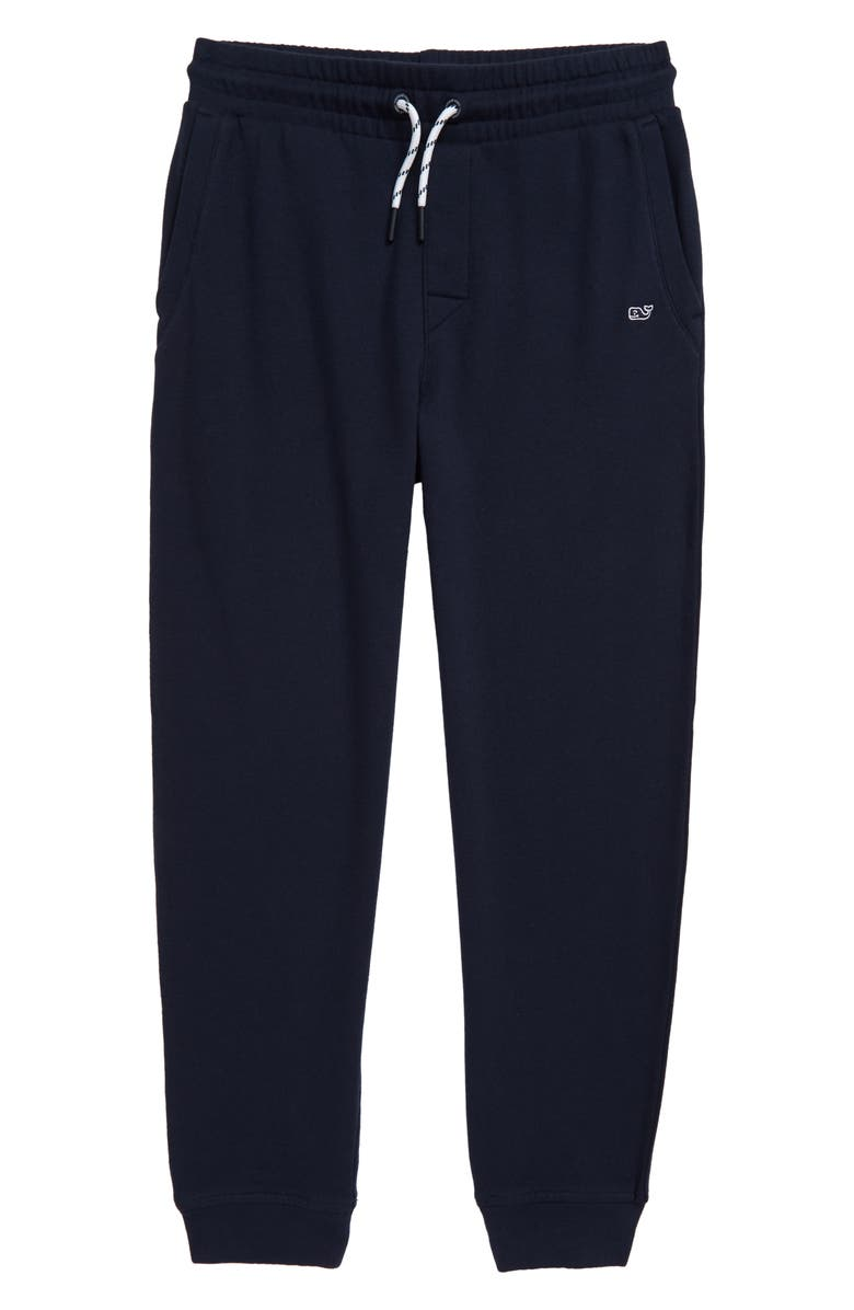 VINEYARD VINES Go Knit Jogger Sweatpants, Main, color, VINEYARD NAVY