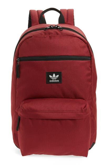 Adidas Originals ADIDAS ORIGINAL NATIONAL BACKPACK - RED