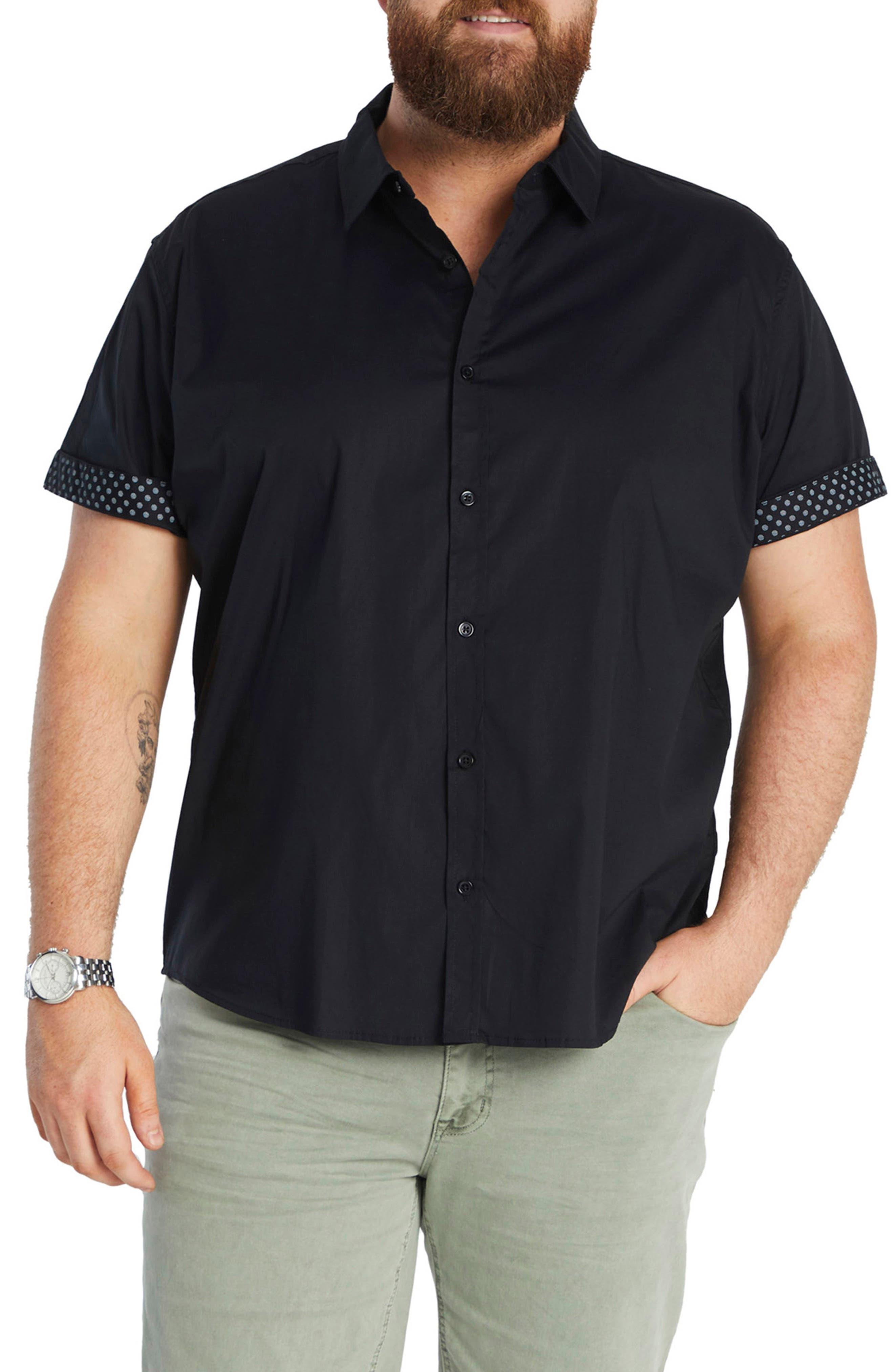 Bennett Short Sleeve Stretch Button-Up Shirt