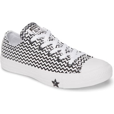 Converse Chuck Taylor All Star Mission Leather Low Top Sneaker, White