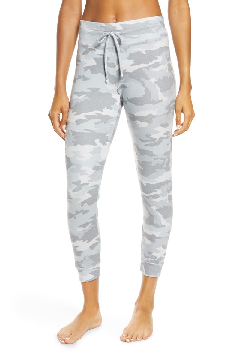 BEYOND YOGA Print Lounge Jogger Pants, Main, color, 090