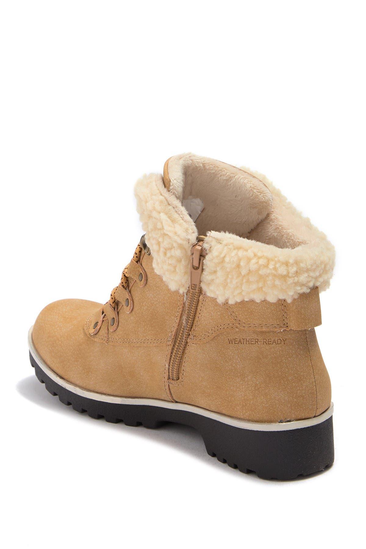 Image of JBU by Jambu Redrock Faux Fur Trimmed Short Boot