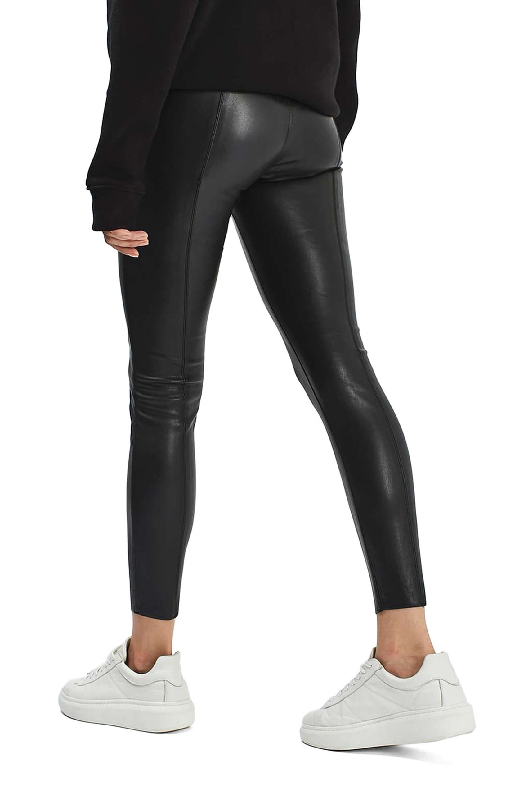 841317119d36cc Topshop Percy Faux Leather Skinny Pants (Regular & Petite) | Nordstrom