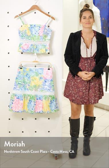 Jan Peplum Crop Top & Skirt Set, sales video thumbnail
