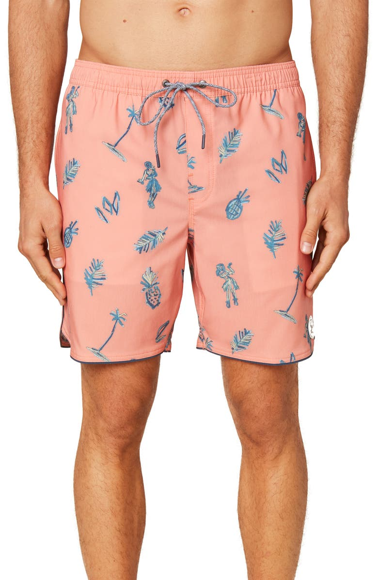 O'NEILL White Out Volley Shorts, Main, color, 817