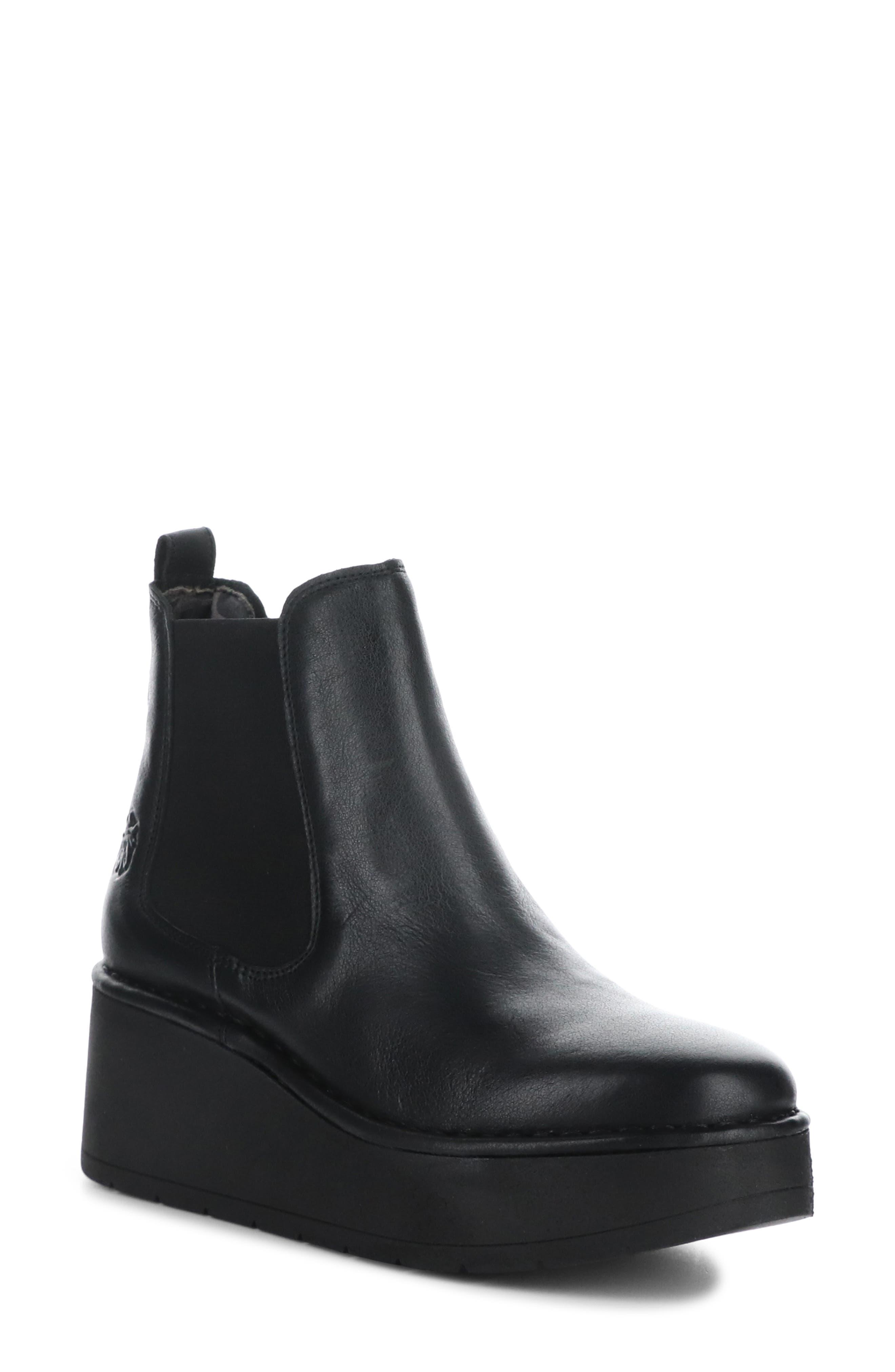 Hama Platform Wedge Chelsea Boot