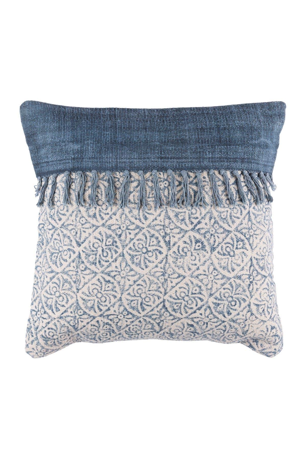 Image of SURYA HOME Cream Lola Bohemian/Global Pillow