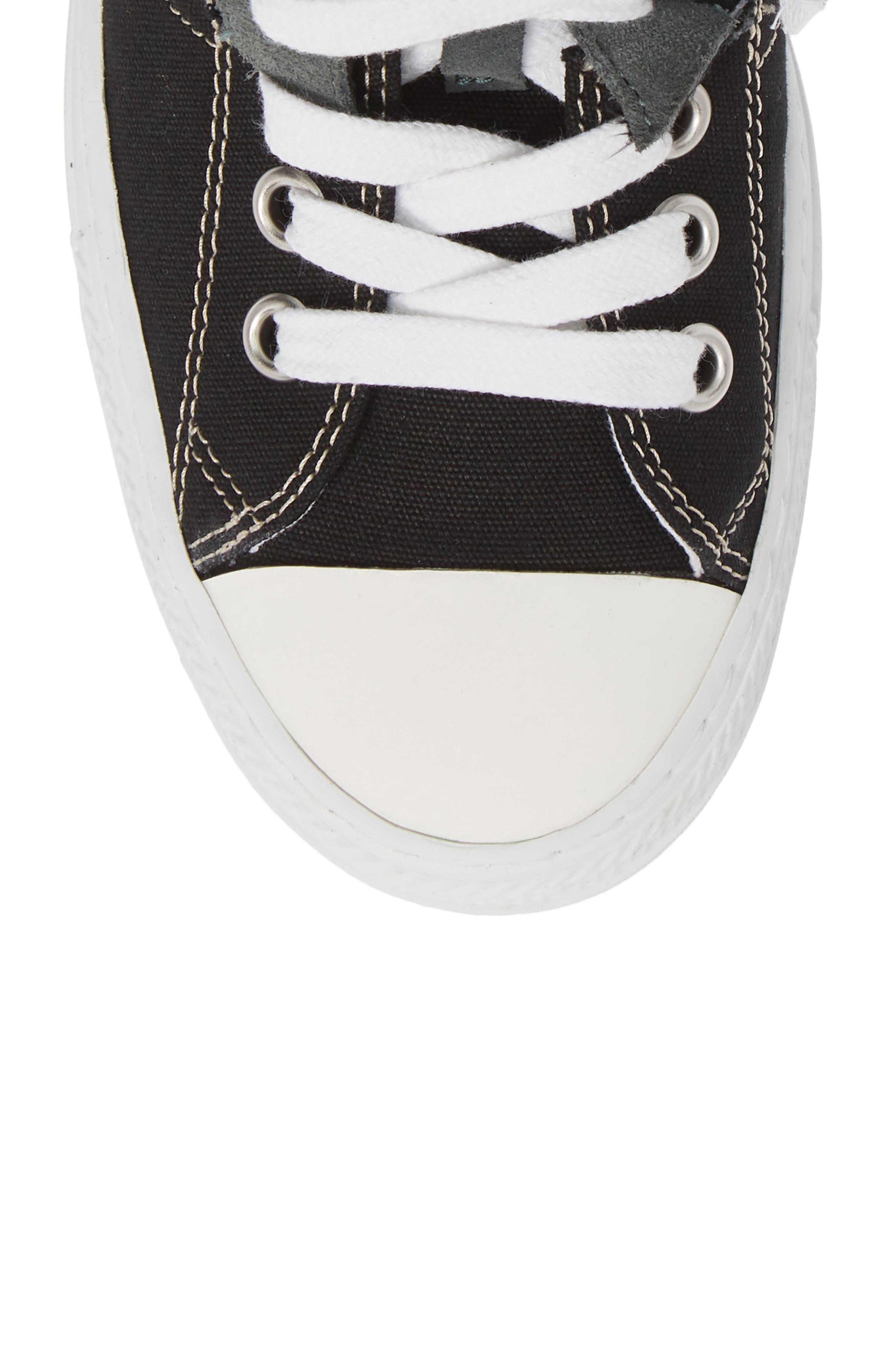 ,                             High Top Sneaker,                             Alternate thumbnail 5, color,                             001