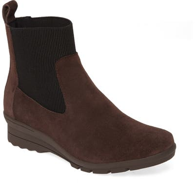 Taryn Rose Emilyn Chelsea Boot, Brown