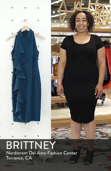 Ruffle Sheath Dress, sales video thumbnail