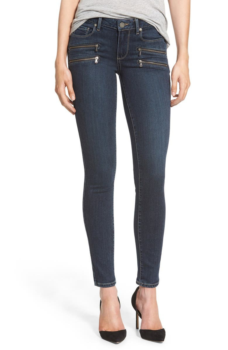 PAIGE Denim 'Transcend - Edgemont' Ultra Skinny Jeans, Main, color, 400