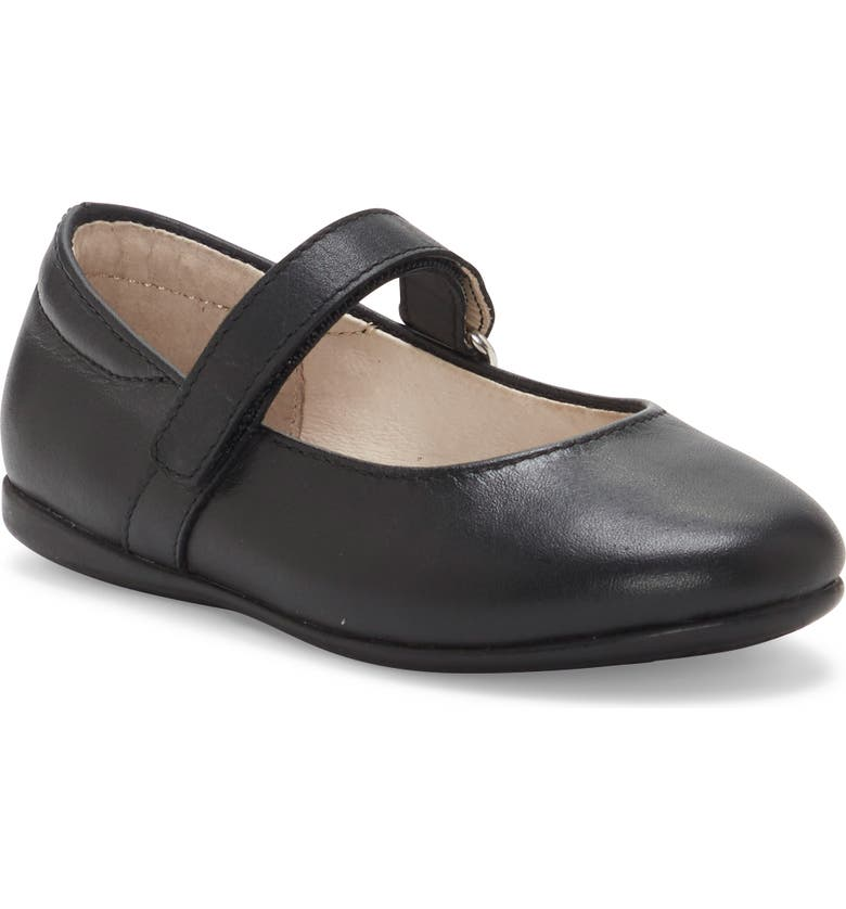 SOLE PLAY Pax Mary Jane Flat, Main, color, BLACK
