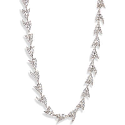 Nadri Liv Leaf All Around Collar Necklace