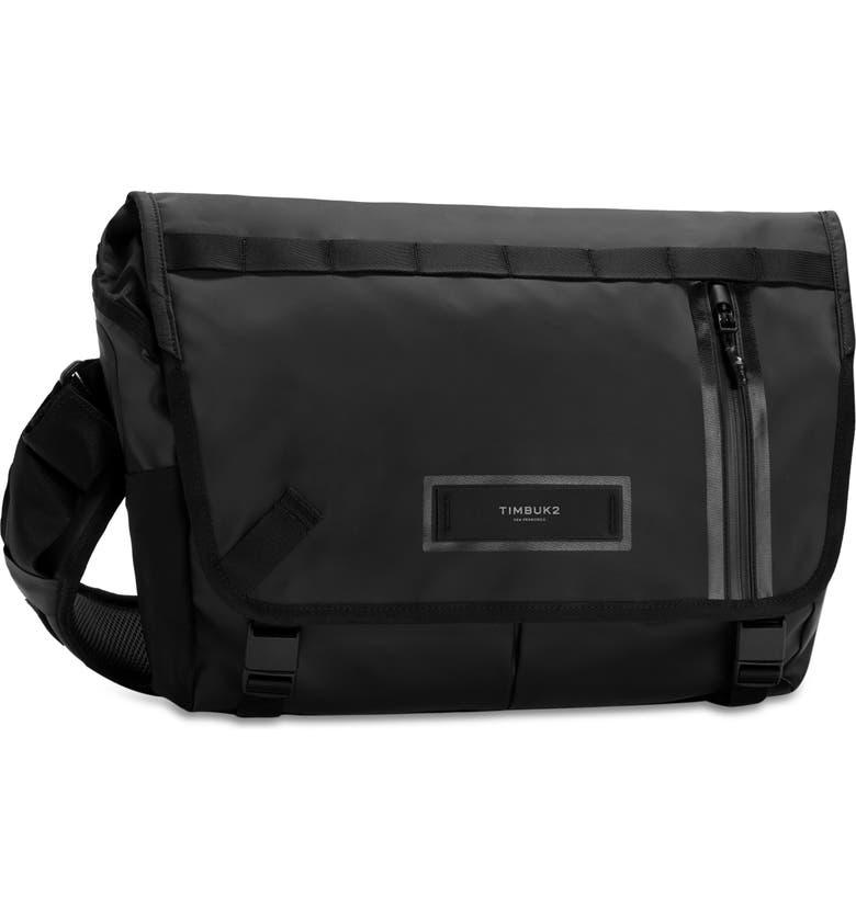 TIMBUK2 Especial Stash Messenger Bag, Main, color, JET BLACK