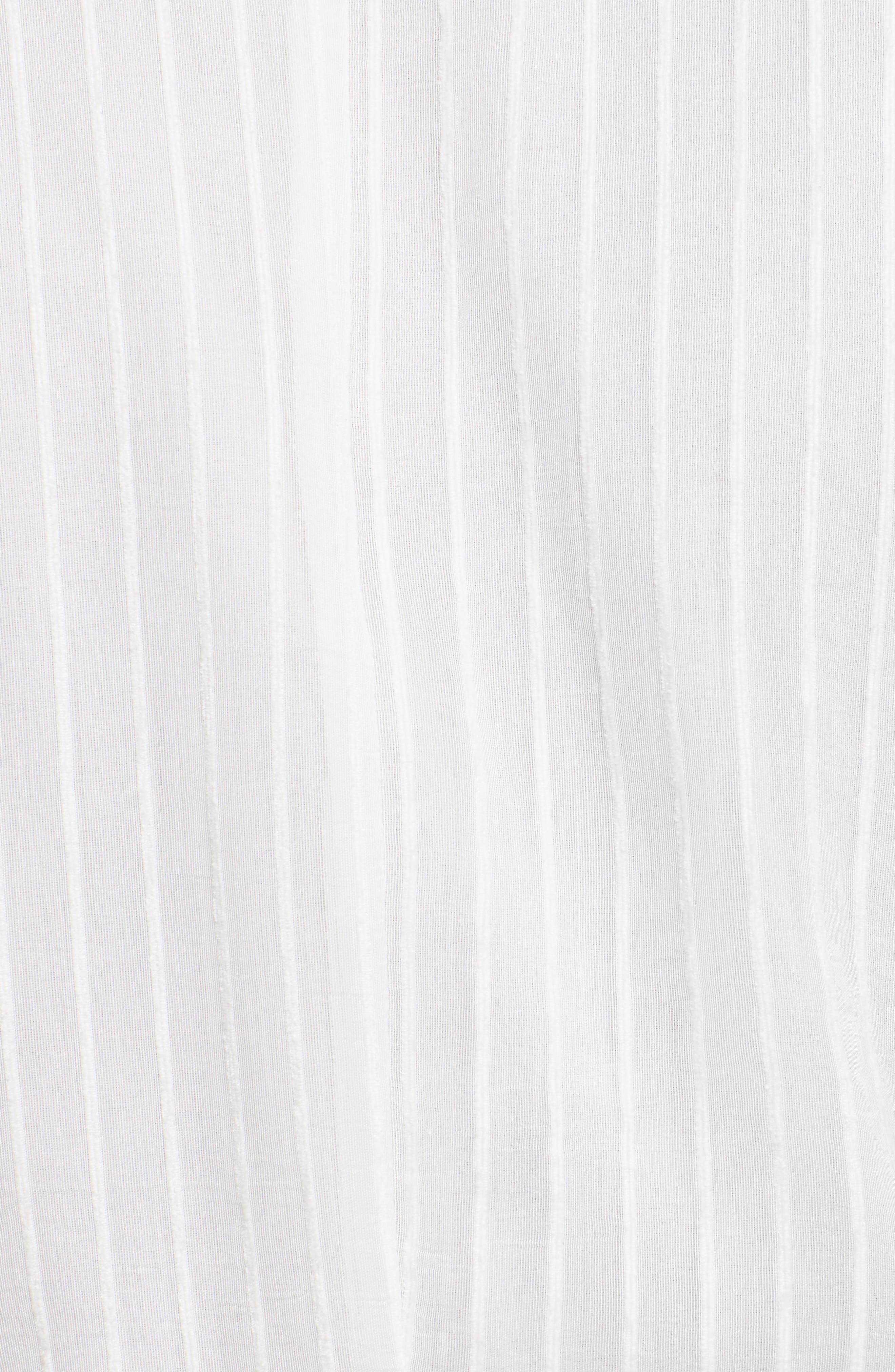 ,                             Shaeryl Midi Dress,                             Alternate thumbnail 6, color,                             PORCELAIN