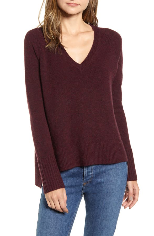 J.crew Sweaters SUPERSOFT YARN V-NECK SWEATER