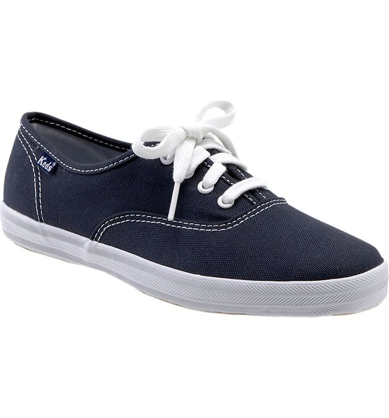 KEDS<SUP>®</SUP> 'Champion' Canvas Sneaker, Main, color, NAVY CANVAS