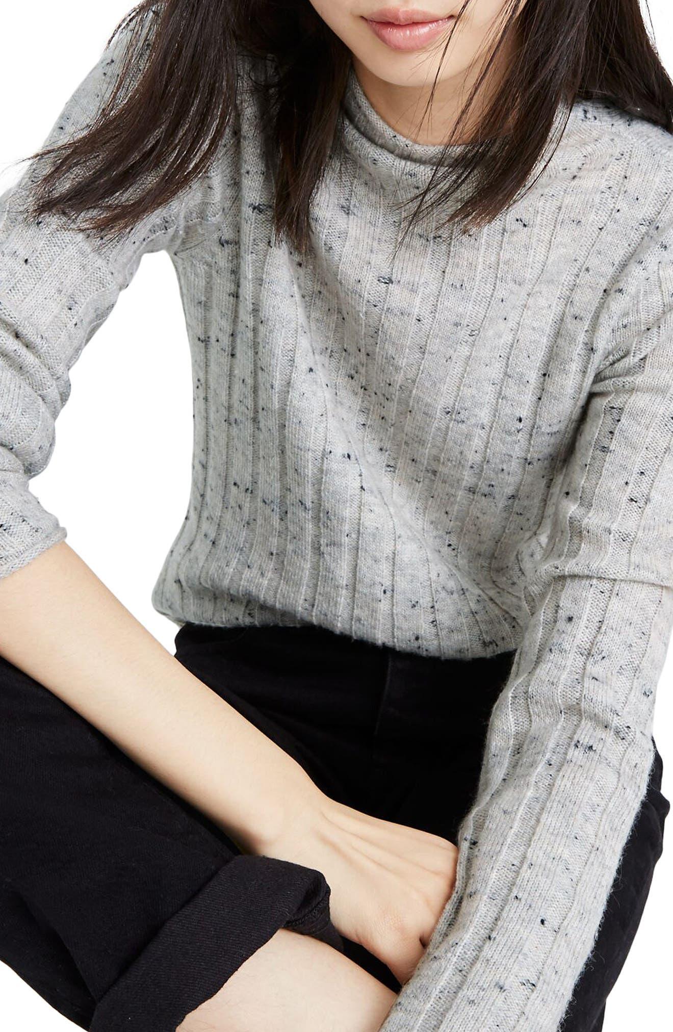 Madewell Donegal Evercrest Coziest Yarn Turtleneck Sweater (Regular & Plus Size)