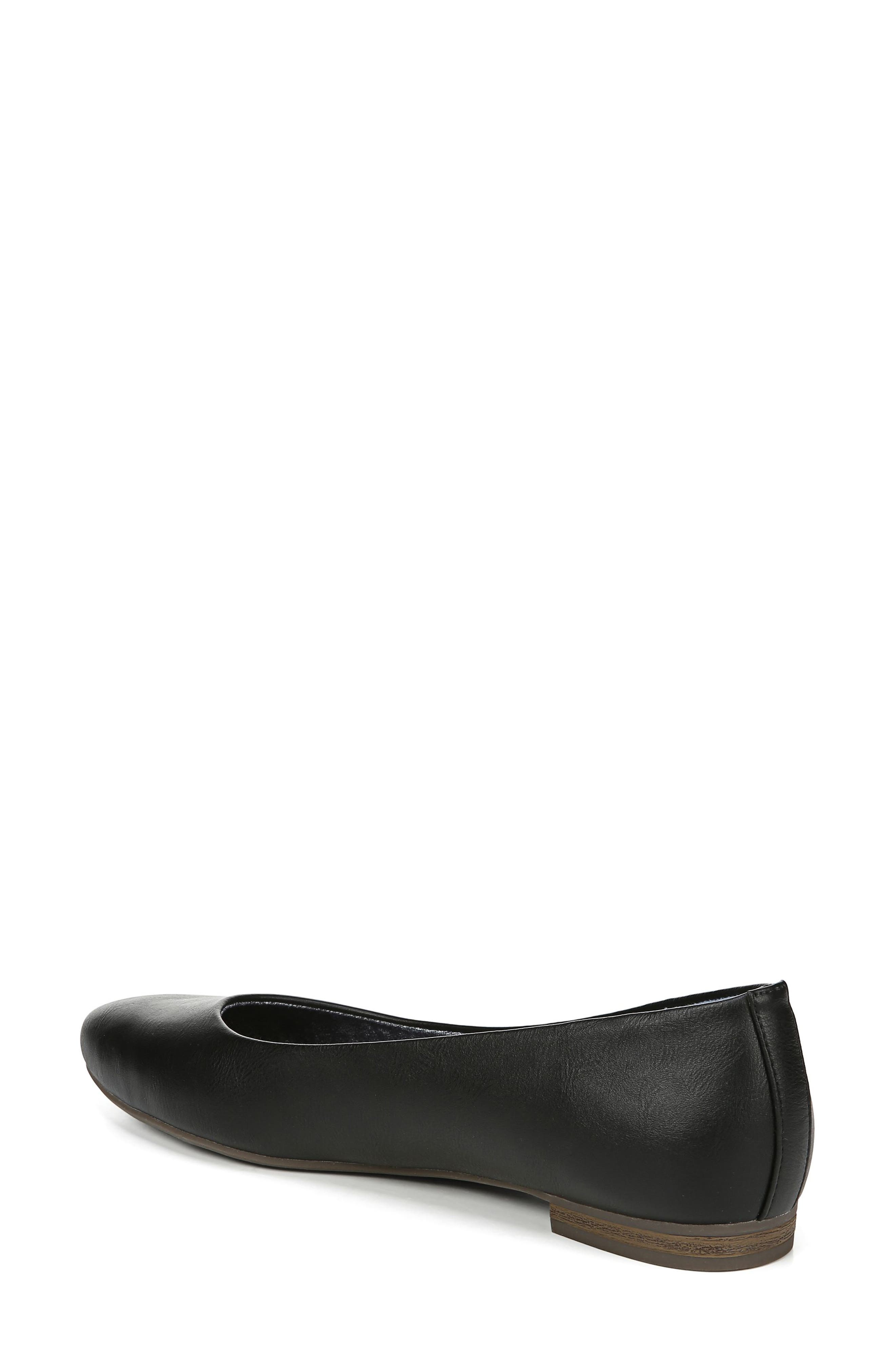 ,                             Aston Flat,                             Alternate thumbnail 2, color,                             BLACK FAUX LEATHER