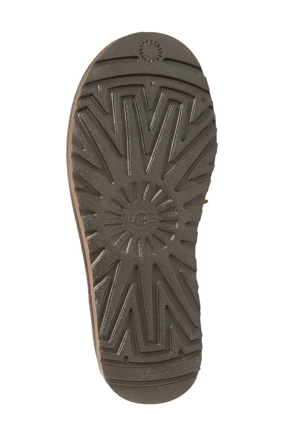 ,                             Classic Mini II Genuine Shearling Lined Boot,                             Alternate thumbnail 123, color,                             201