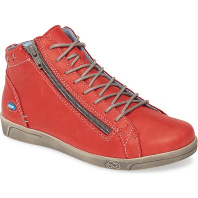 Cloud Aika High Top Sneaker - Red