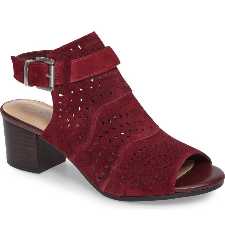 BELLA VITA Fonda Perforated Sandal, Main, color, 930