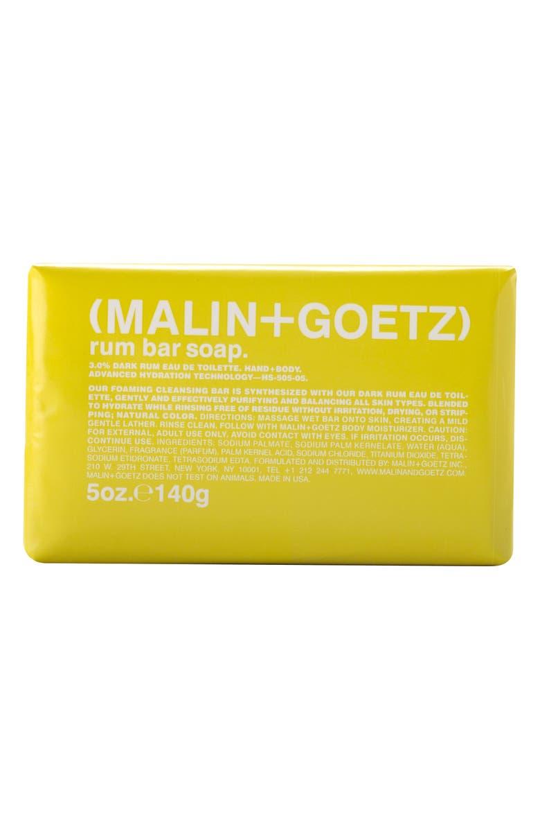 MALIN+GOETZ Bar Soap, Main, color, RUM