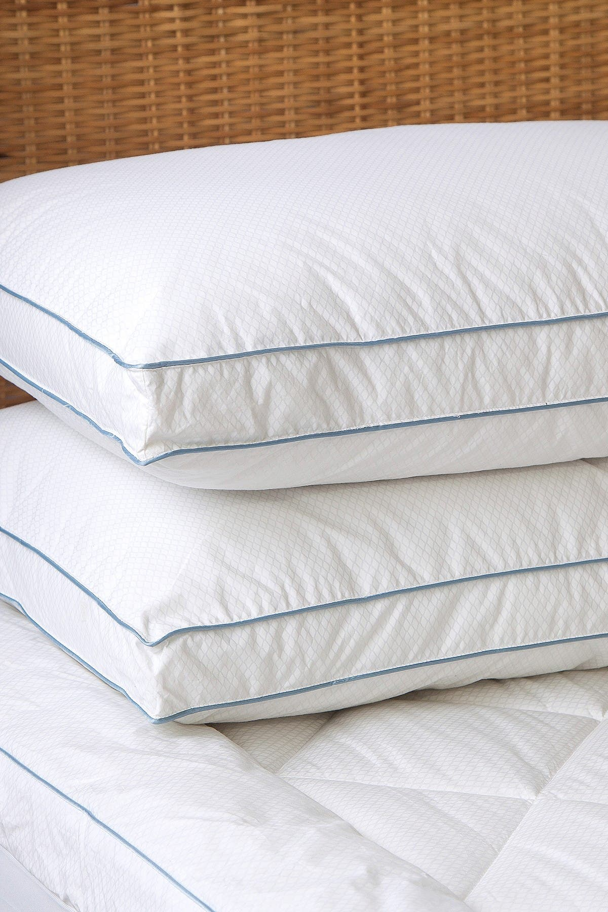 Image of Allied Home Tempa Sleep King Cotton Cooling Down Alternative Gusseted Pillow