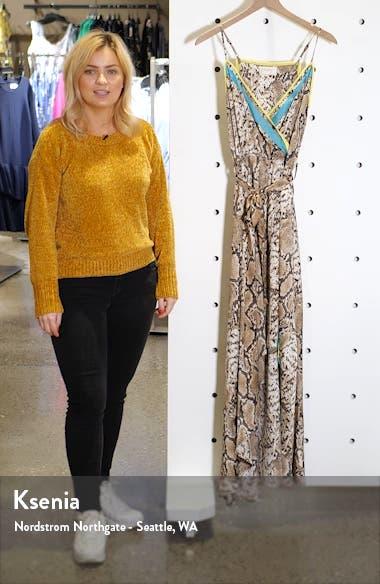 Python Print Wrap Dress, sales video thumbnail