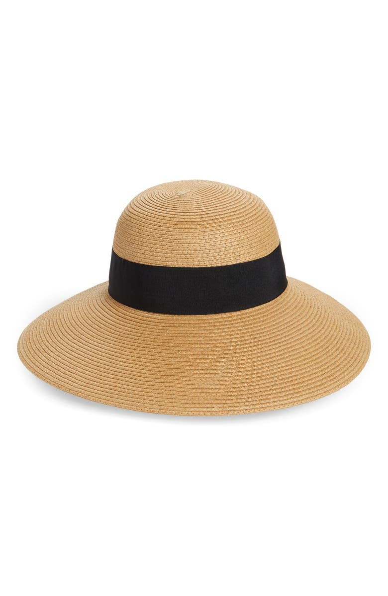 NORDSTROM Floppy Hat, Main, color, TAN DARK COMBO