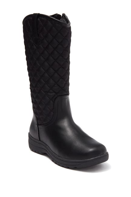Image of Joe Fresh Lugagne Quilted High Knee Boot