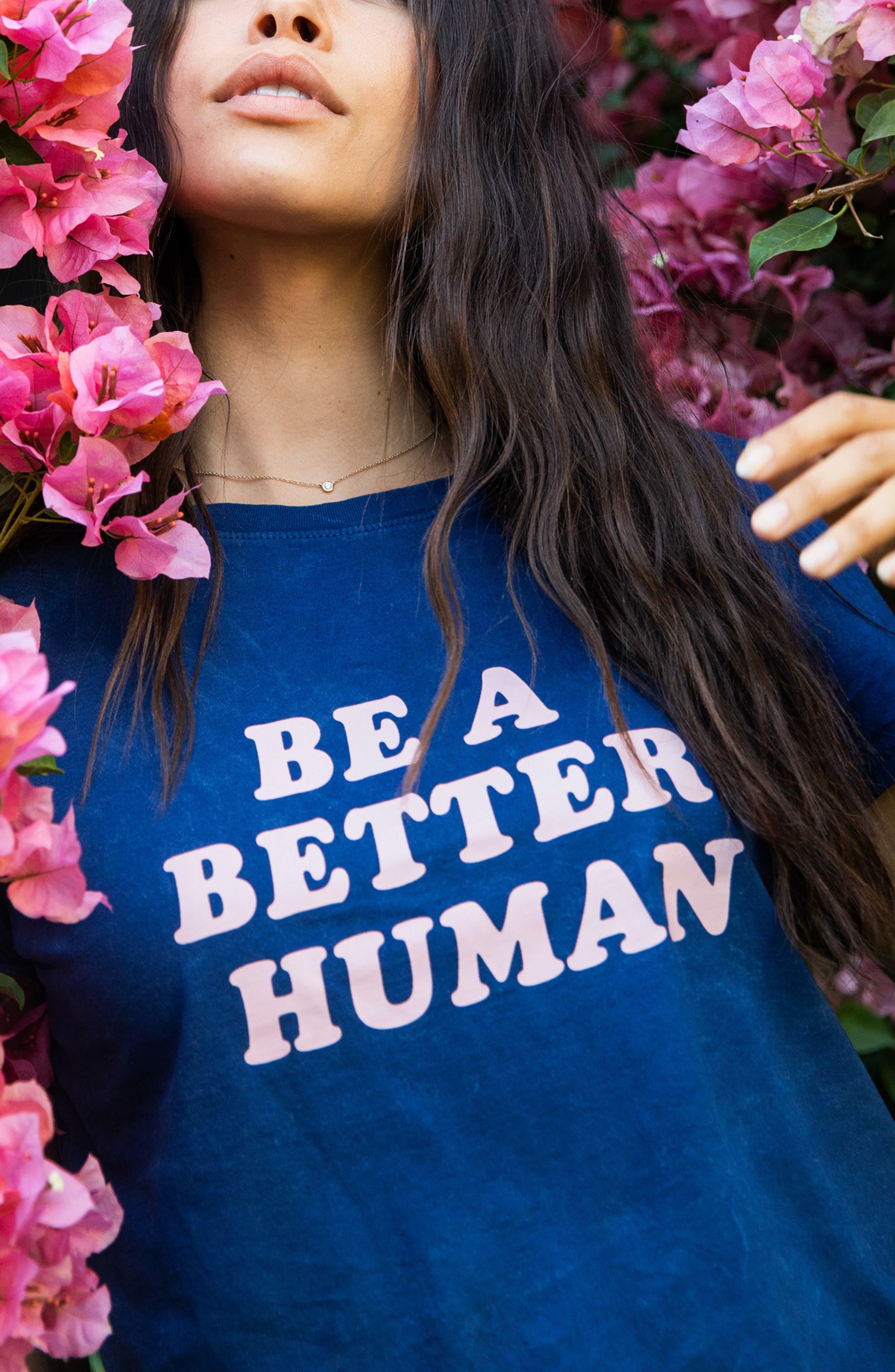 Sub_Urban Riot Be a Better Human T-Shirt | Nordstrom