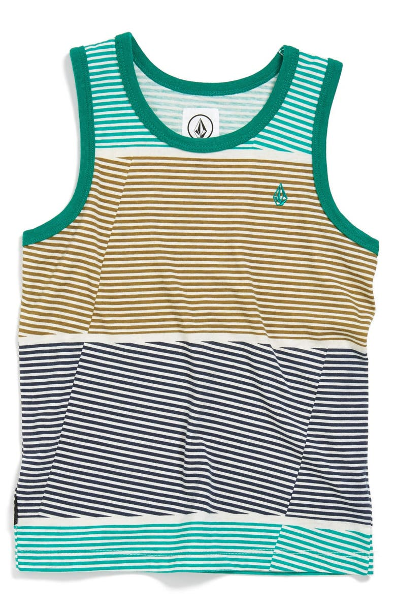 VOLCOM '3 Course' Stripe Tank, Main, color, 352
