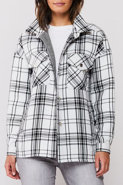 Image of Velvet Heart Marvela Snap Button Flannel Shirt