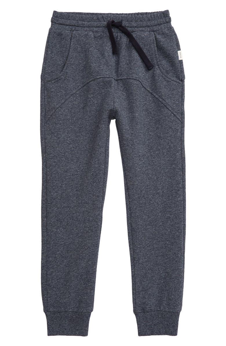 MILES BABY Jogger Pants, Main, color, 602 DARK BLUE