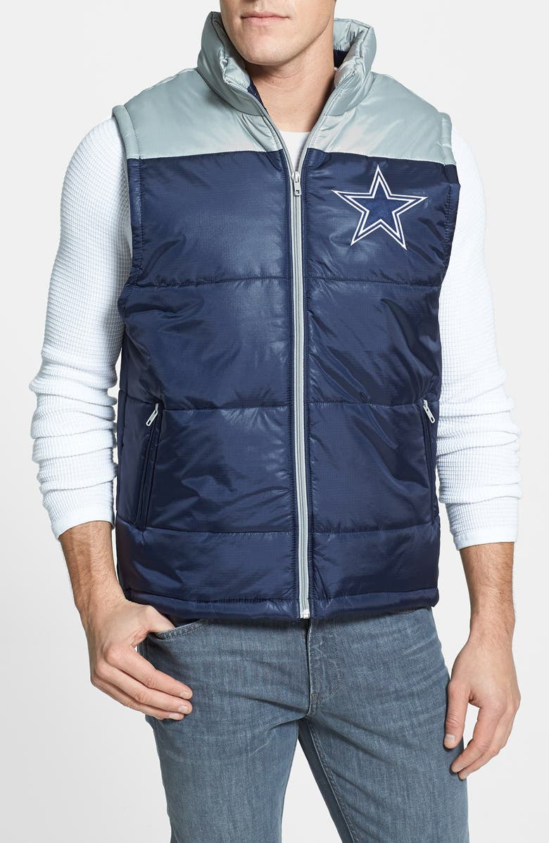 innovative design bf6a4 b174b Mitchell & Ness 'Winning Team - Dallas Cowboys' Quilted Vest ...