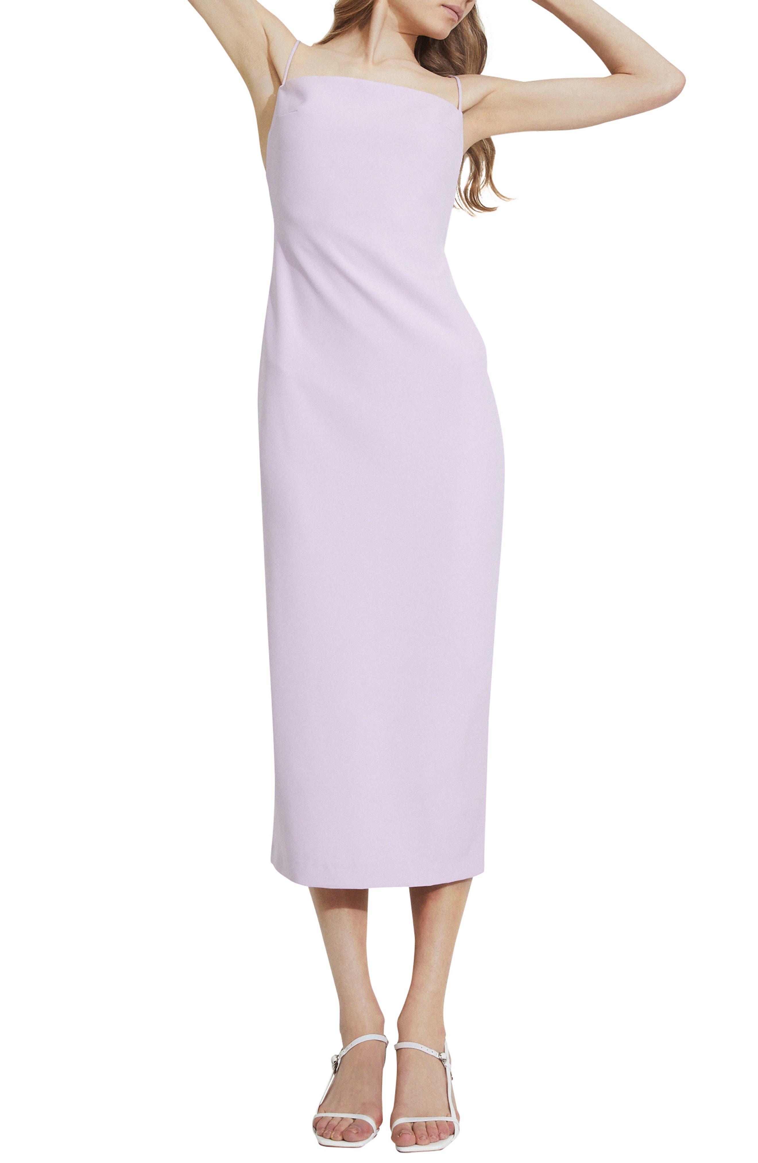 Jillian Square Neck Dress