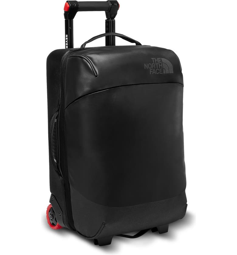 THE NORTH FACE Stratoliner 20-Inch Medium Wheeled Carry-On, Main, color, TNF BLACK