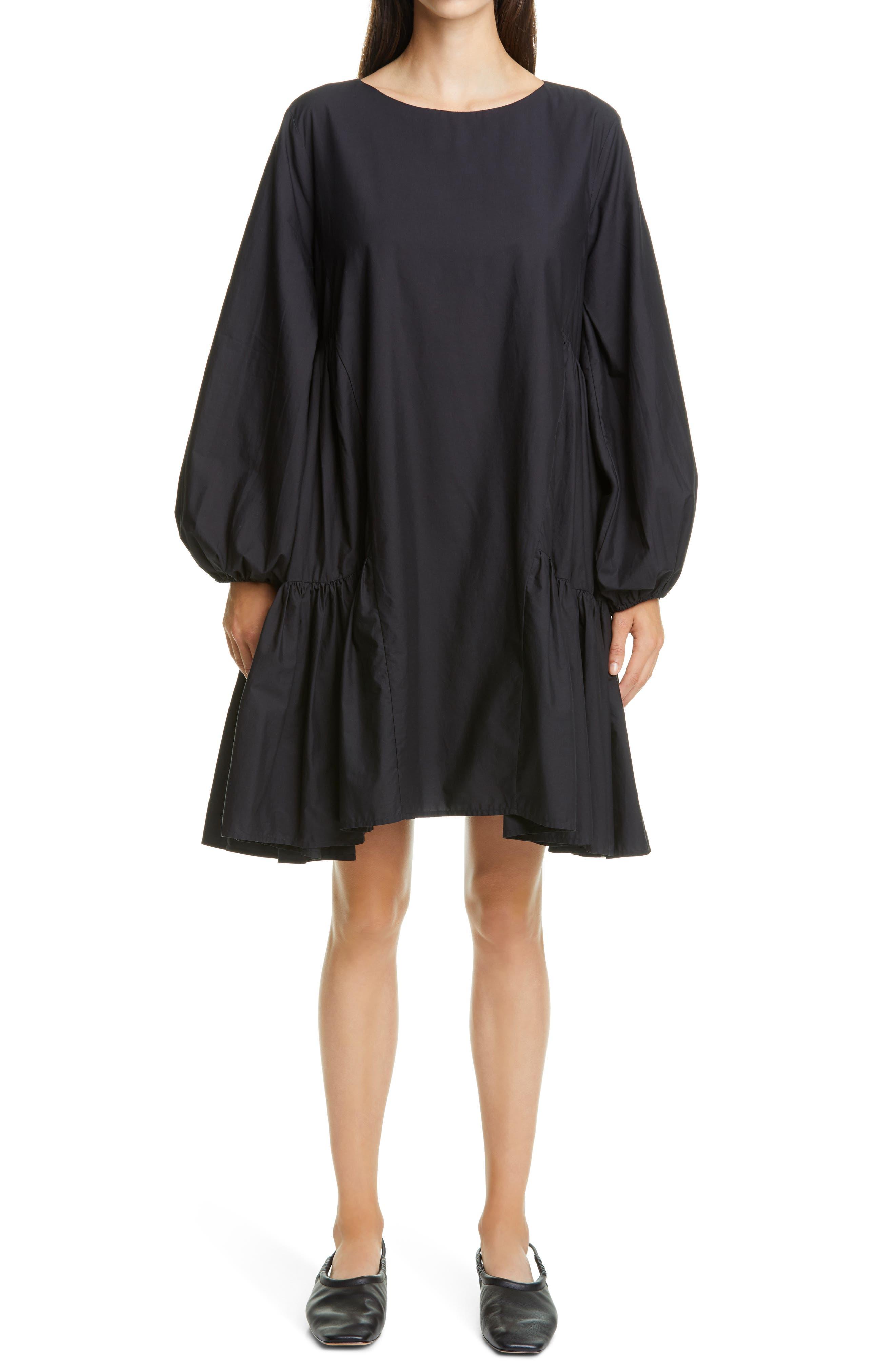 Byward Long Sleeve Pima Cotton Dress