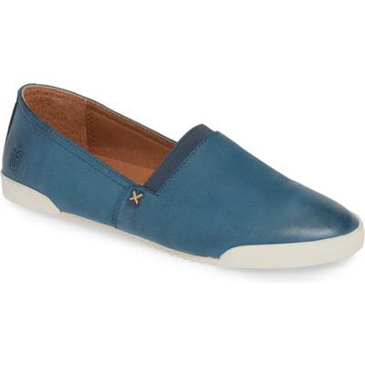 Frye Melanie Stud Slip-On Sneaker, Blue/green
