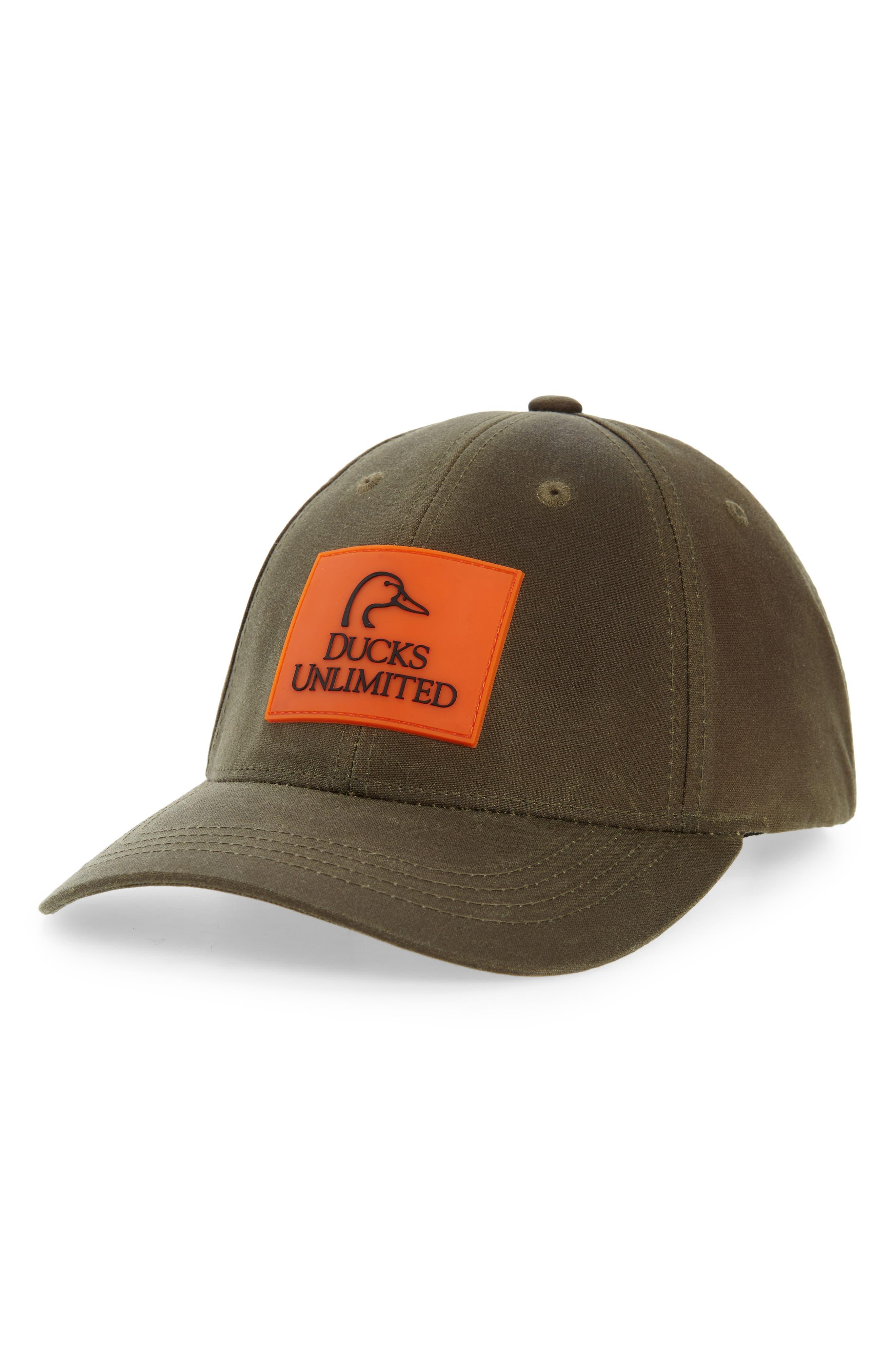 Ducks Unlimited Logger Cap