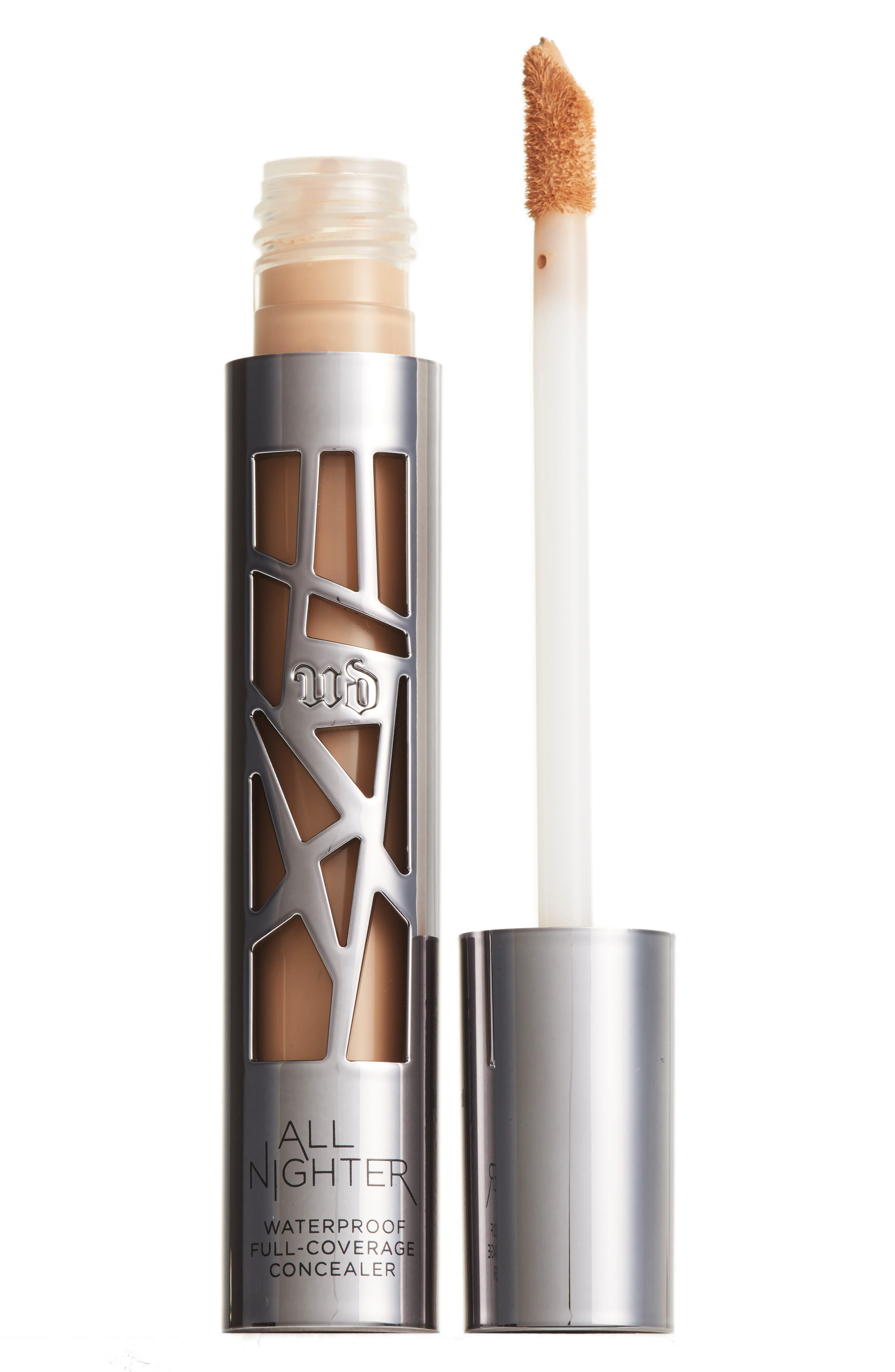 What it is: A full-coverage concealer that provides flawless matte coverage that lasts all day and all night. What it does: UD\\\'s ultra-pigmented, blendable formula controls shine and masks imperfections for 24 hours. And the beautiful, modern-matte finish never looks overdone. UD\\\'s waterproof formula stays put until the morning light. Plus, All Nighter Concealer absorbs oil to keep skin looking beautifully matte. A major problem solver, All