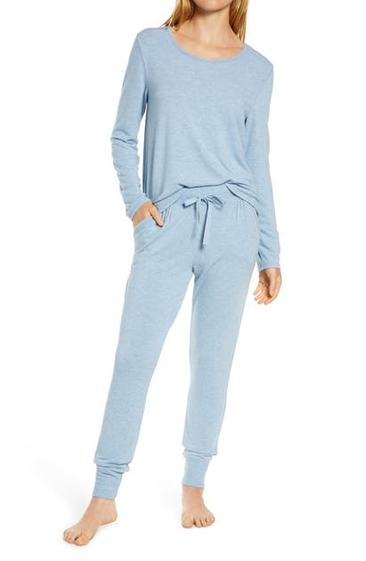Papinelle Feather Soft Pajamas In Powder Blue