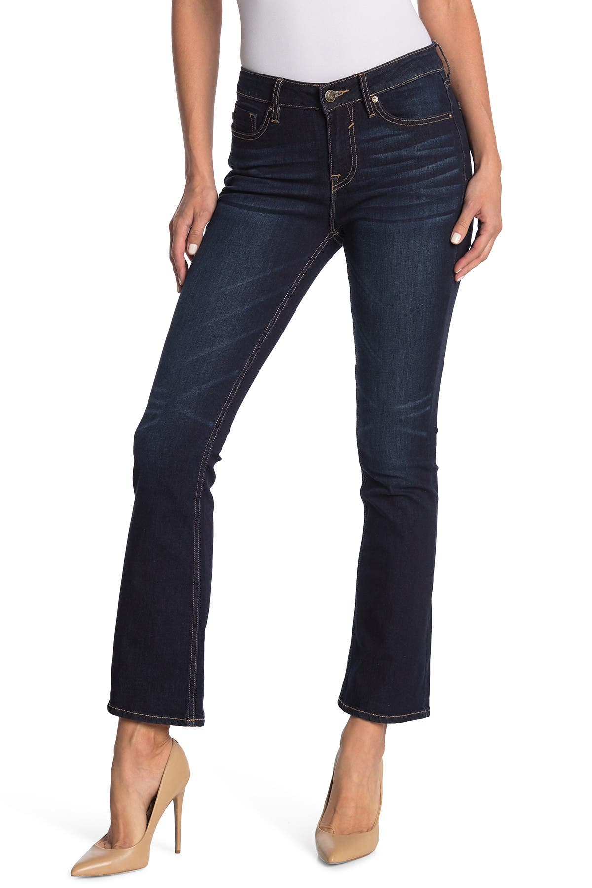 Image of Vigoss Marley Mid Rise Boot Cut Jeans