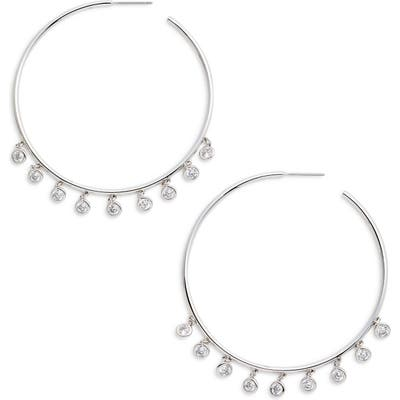 Nadri Shaker Hoop Earrings